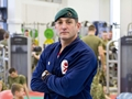 Royal Marine receives MBE for work with injured soldiers
