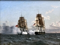 Sailors remember famous UK-US naval battle