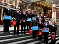 Commando fliers hit the capital for poppy appeal