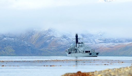 Sailors from HMS Argyll follow in footsteps of Sir Ernest Shackleton