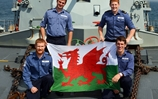 Welsh Sailors Celebrate National Day In The Gulf