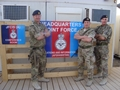 Royal Navy Reserves congregate in Afghanistan