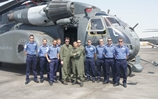 Ramsey meet the Blackhawks ahead of Gulf minehunting exercise