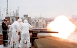 21 Gun Salute for Queen's Anniversary