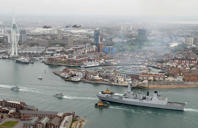 Royal Navy Starts Diamond Jubilee celebrations