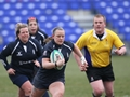 Navy Rugby ladies attend senior academy trials