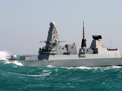 ... ships join forces as Daring exercises with the Enterprise | Royal Navy