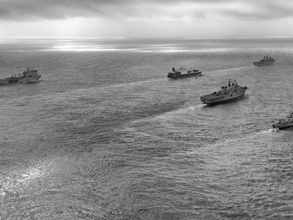 Royal Navy Task Forces Heads For The Med