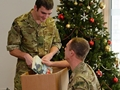 Injured Royal Marines receive Plymouth shoppers' gifts