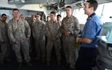 UK and US Amphibious Task groups meet in waters off Djibouti