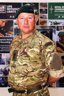 Royal Marine reservist awarded MBE