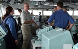 HM Ambassador to Saudi Arabia visits Royal Navy Cougar task group in Red Sea