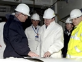 First Sea Lord tours Queen Elizabeth class carrier