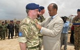 Naval officers honoured for role in Somalia