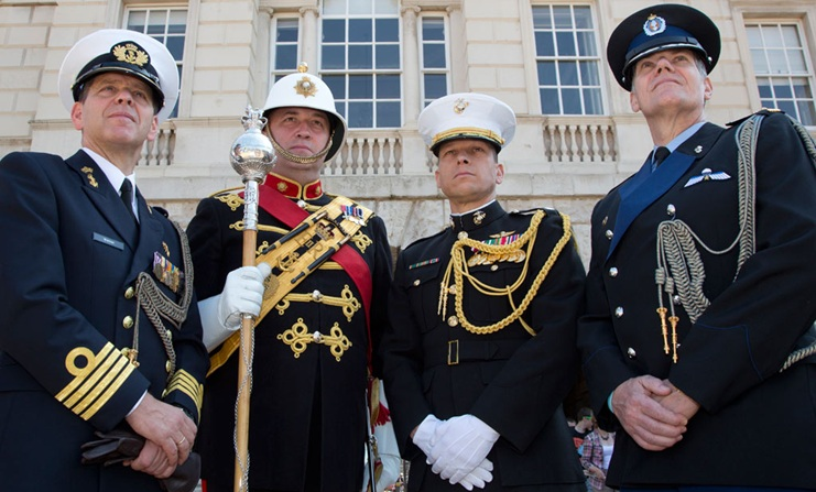 Drum Major to retire after serving for nearly 10% of Royal Marines existence