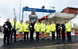 US carrier personnel explore HMS Queen Elizabeth