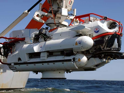 Nato Submarine Rescue System Test