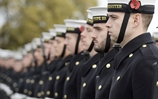 Royal Navy trains for remembrance Sunday ceremony