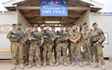 First Sea Lord visits Royal Marines in Afghanistan