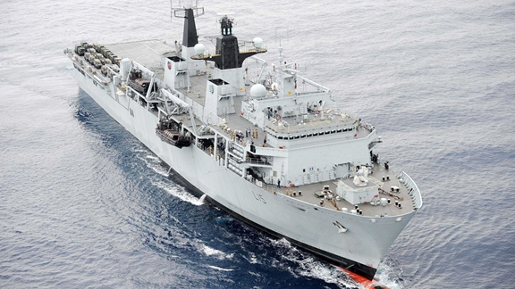 Royal Navy sails for annual 'Cougar' deployment