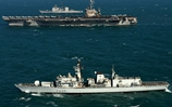 HMS Monmouth visit USS John C Stennis