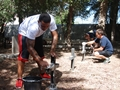 Bahrain based sailors tidy up cemetery for Remembrance