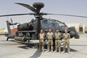 Sailors help give the Army's Apaches wings in Afghanistan