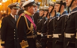 First Sea Lord's Final Visit to HMS Collingwood