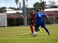 Lancaster's footballers take on Bermuda's national team