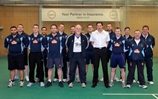 England Legend puts Royal Navy Cricket through its paces