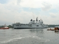 HMS Illustrious departs Singapore for the Philippines