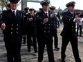 Royal Navy pays Dues