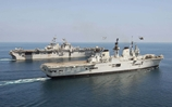 Foreign exchange for HMS Illustrious and USS Boxer