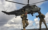 Commandos get to grips with fast roping 
