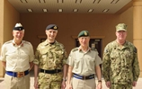 Head of British Military calls on Bahrain Battle Staff