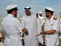 HMS Montrose hosts Sheikh in United Arab Emirates