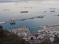 HMS Northumberland ails into Gibraltar in a co-ordinated entry along with the task group for Operation Cougar 12