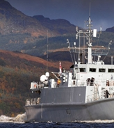 Patrol ships and Minehunters