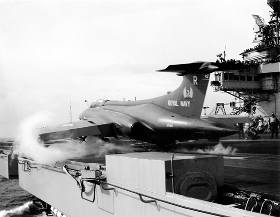 Historic images of 809 NAS Buccaneers operating from the deck of the old HMS Ark Royal (IV) in the 1970s courtesy of the NN archives