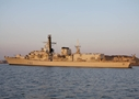 HMS Somerset pays visit to Isles Of Scilly