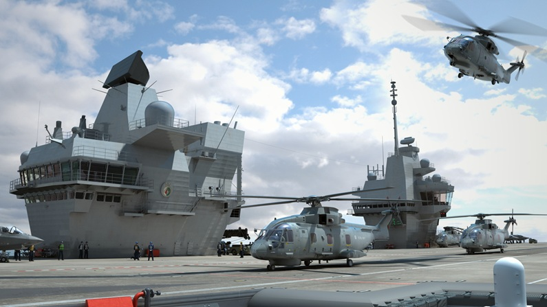 Glimpse into future of carrier operations with stunning new images