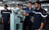 Royal Navy exercises navigation skills in the Gulf