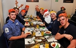 Festive delights for HMS Westminster