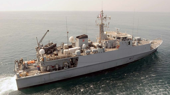 HMS Ramsey pays historic trip to Saudi Arabia