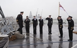 Royal Navy hosts Russian delegation