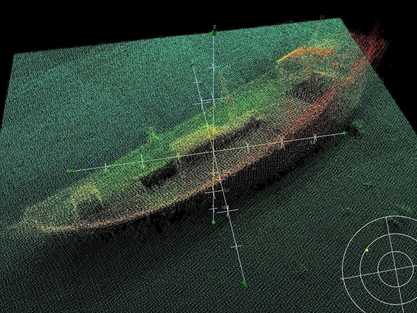 Survey ship Enterprise's new hi-tech boat finds two undiscovered wrecks in Dubai