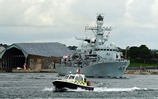 HMS Montrose deploys on operations for 7 months