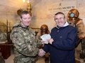 Royal Navy Divers Visit Gosport Diving Museum To Thank Staff For Support
