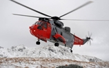 HMS Gannet Rescues Two From Car Stranded on Treacherous Road