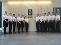 Crew of HMS Express visit Swedish National Defence College